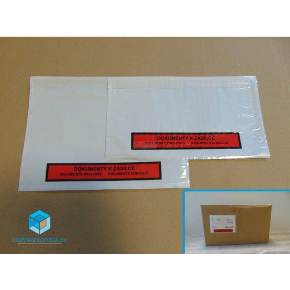LD nyomtatott okmánytasak LA4 Long (1000db/csomag)